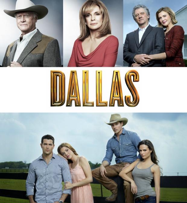 Dallas Cast Montage