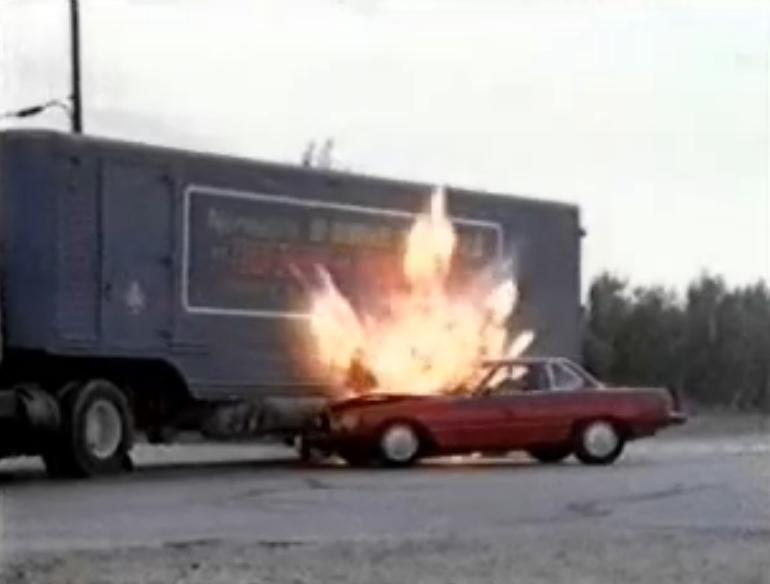 Dallas Pam Car Crash