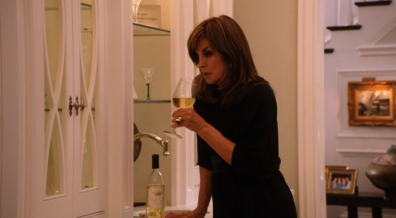 Sue Ellen nearly returned to the bottle after losing her bid for office.