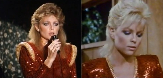 Double Trouble: Lisa Hartman beguiled Gary as lookalikes Ciji and Cathy.