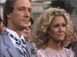 Gary and Valene's last appearance on Dallas was at Lucy's 1981 wedding.