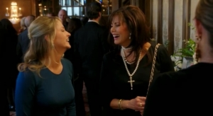 Cally Harper and Mandy Winger reminisce about J.R. in the March 11 episode.