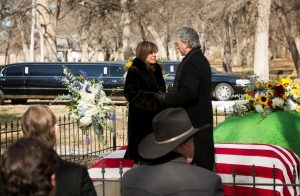 Linda Gray gave a tour de force performance as the grieving Sue Ellen.