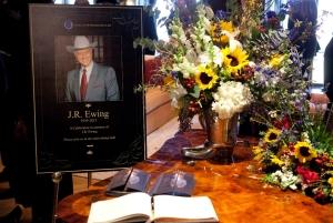 Farewell, J.R.!