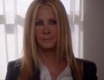 Joan Van Ark as a ghostly Valene