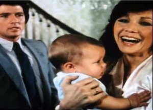 Pam (Victoria Principal) was overjoyed when she first laid eyes on Christopher.